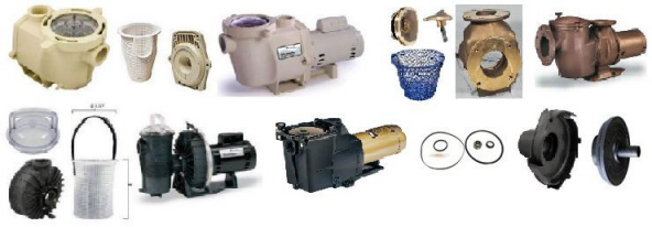 Swimming Pool Parts, Pentair Pool Filter, Pool Pumps, Light Parts