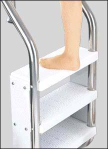 Enjoyable Aquamasters Usa Safety Pool Ladders 8 Inch Deep Treads Creativecarmelina Interior Chair Design Creativecarmelinacom