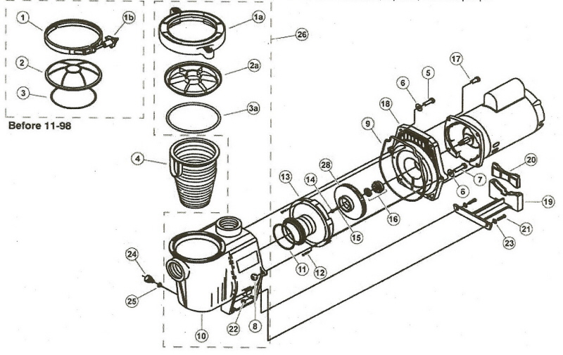 Jacuzzi Tub Parts Wiring Diagram And Fuse Box